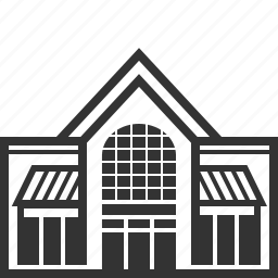 building, house, mall, market, shop, shopping, store icon