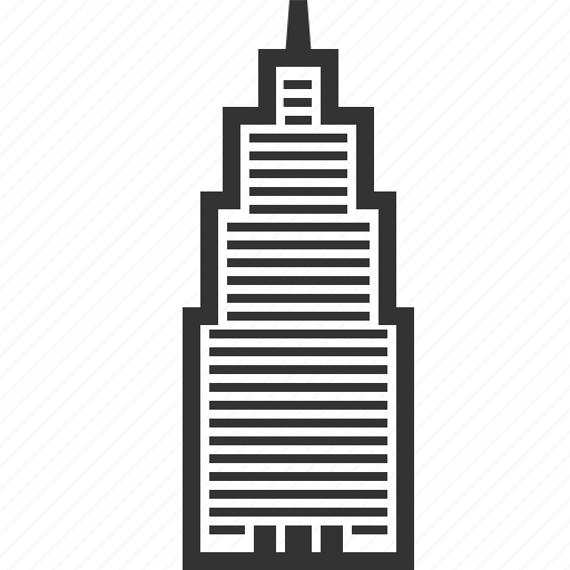 building, city, house, office, real estate, skyscraper, tower icon