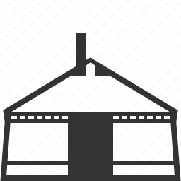 building, home, house, hut, mongol, real estate, yurt icon