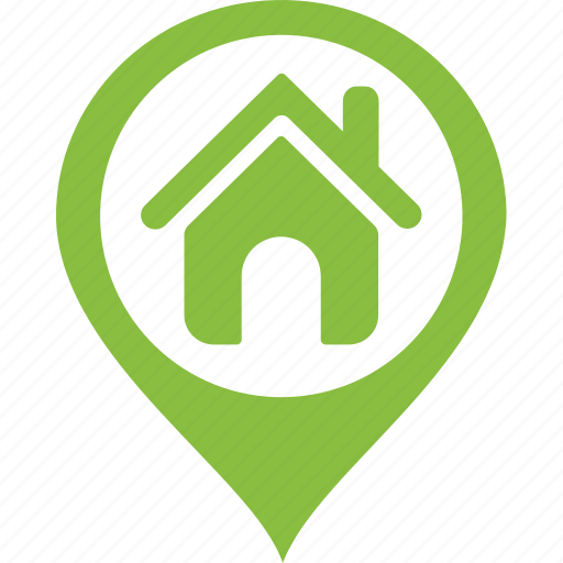 Address, area, home, house, location, map, tag icon on
