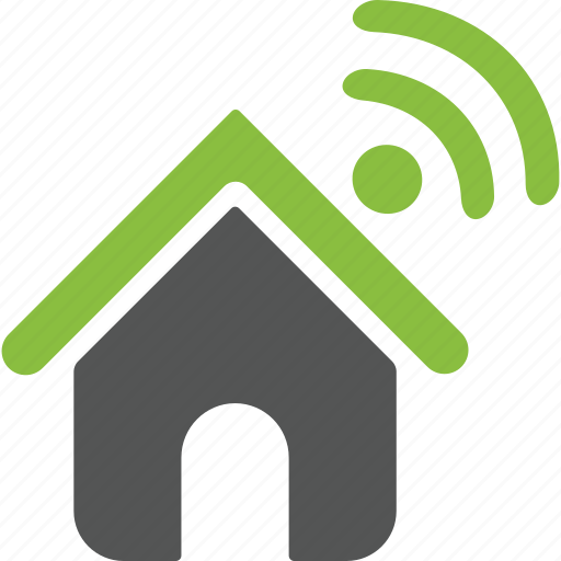 connection, home, house, internet, mobile, wifi, wireless icon