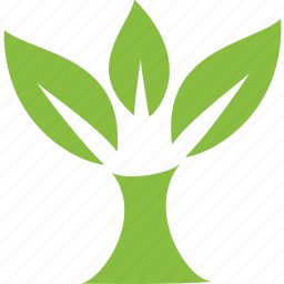 environment, green, house, nature, organic, plant, tree icon