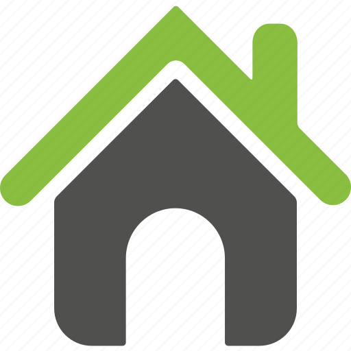 building, environment, estate, green, home, house, organic icon
