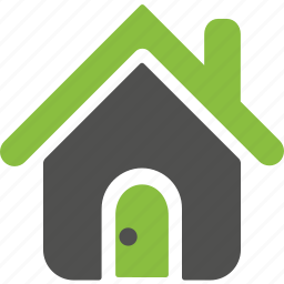 building, environmnet, estate, green, home, house, organic icon