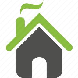 build, building, construction, estate, green, home, house icon