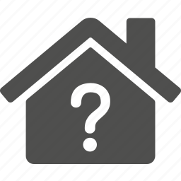 ask, building, help, home, house, question icon
