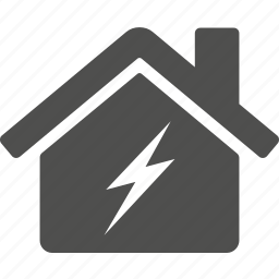 broken, estate, home, house, repair icon
