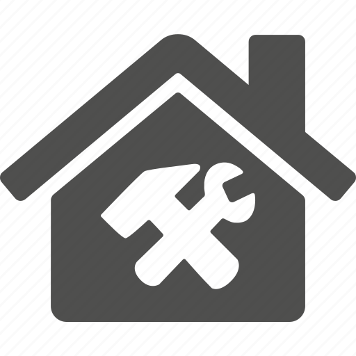 broken, hammer, home, house, repair, wrench icon