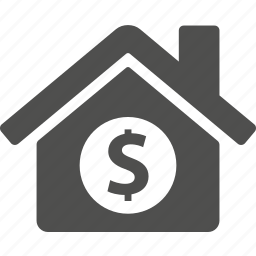 buy, cash, estate, home, house, money icon