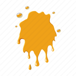 bee, dessert, food, honey, natural, stain, sweet icon