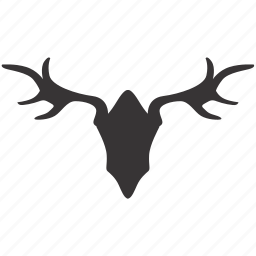antlers, decoration, design, furniture, horns, interior icon