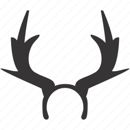 antlers, celebration, decoration, design, horns, interior, party icon