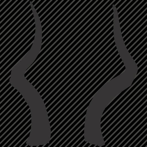 animal, antlers, decoration, design, horns, interior, trophy icon