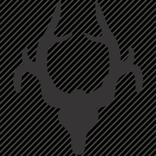 antlers, decor, decoration, design, horns, interior icon