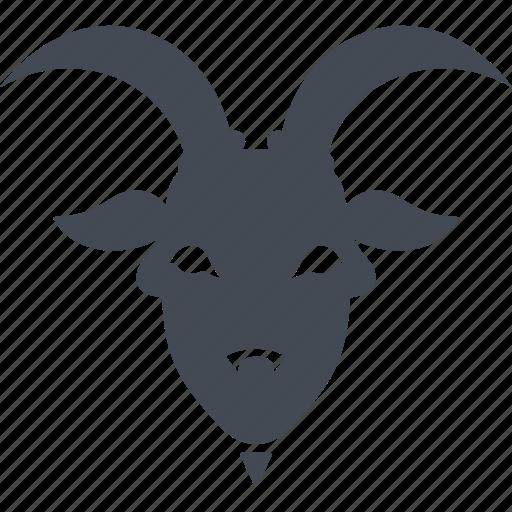 astrology, capricorn, horoscope, zodiac icon