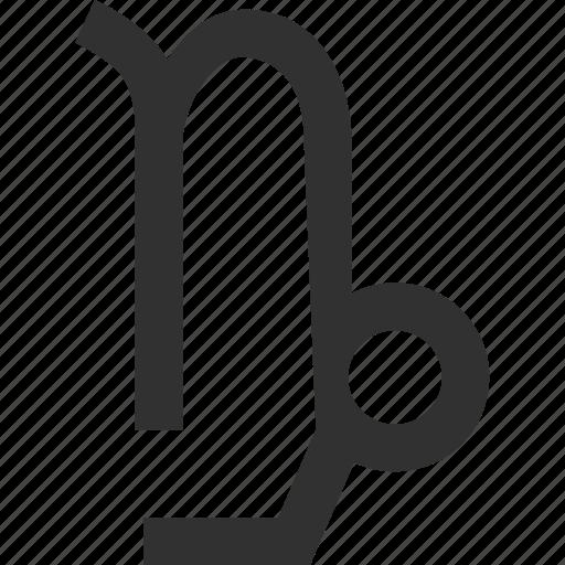 astrology, capricorn, horoscope, horoscope symbol, zodiac icon