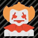 avatar, character, clown, cosplay, halloween, horror, spooky