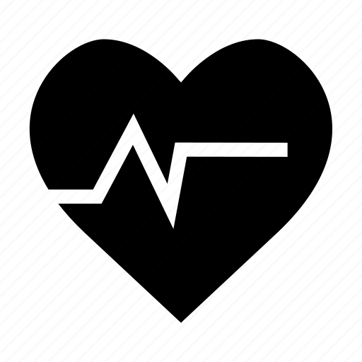 Heart, heart rate, heartbeat, hospital, medical, pulse icon - Download on Iconfinder