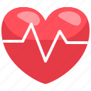 healthy, medical, rate, heartbeat, love, healthcare, heart icon