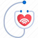 doctor, healthcare, medical, online, phonendoscope, physician, stethoscope icon
