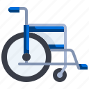 accessibility, disability, handicap, healthcare, hospital, inclusive, wheelchair icon