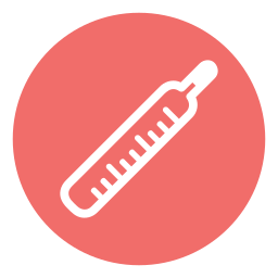 care, health, hospital, thermometer icon