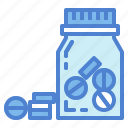 bottle, medical, medicine, pill, pills icon