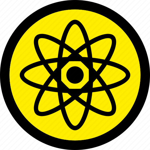 atom, atomic, molecule, nuclear, science icon