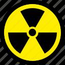 atomic, danger, nuclear, radiation, radioactive