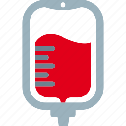 bag, blood, infusion, transfusion icon