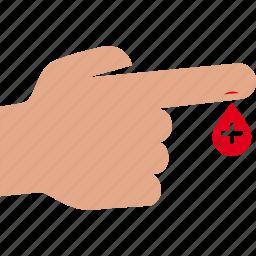 blood, drop, exam, test, transfusion icon