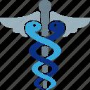 asclepius, caduceus, health, healthcare