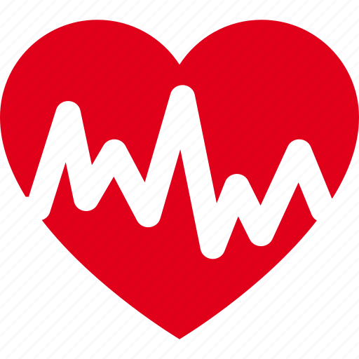 cardiogram, cardiograph, graph, heart, rate icon
