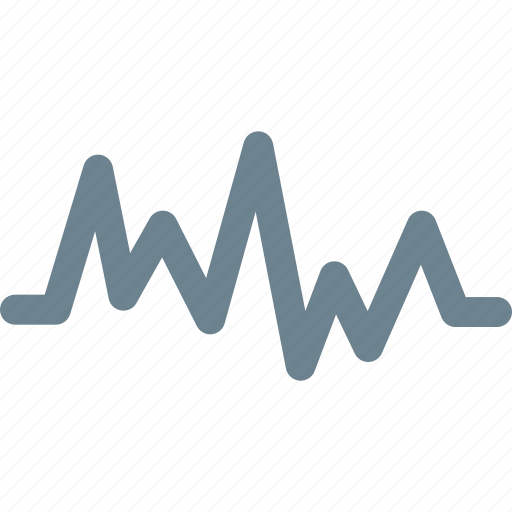 cardiogram, graphic, heart, rate icon