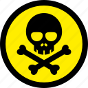 danger, poison, toxic, venom icon