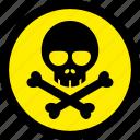 danger, poison, toxic, venom