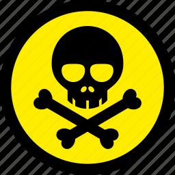 danger, poison, toxic, venom icon