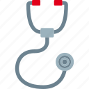 doctor, exam, medic, stethoscope icon