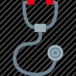 doctor, exam, medic, stethoscope icon