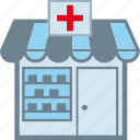 druggist, drugstore, pharmaceutics, pharmacy icon