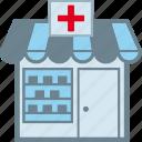 druggist, drugstore, pharmaceutics, pharmacy