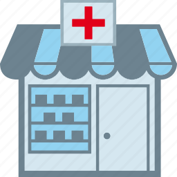 druggist, drugstore, pharmaceutics, pharmacy icon