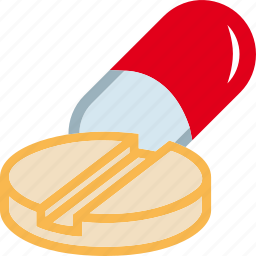 drugs, lozenge, medicines, pill, tablet icon