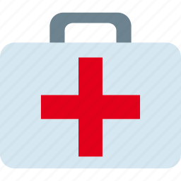 health, kit, medical, medicine, suitcase icon