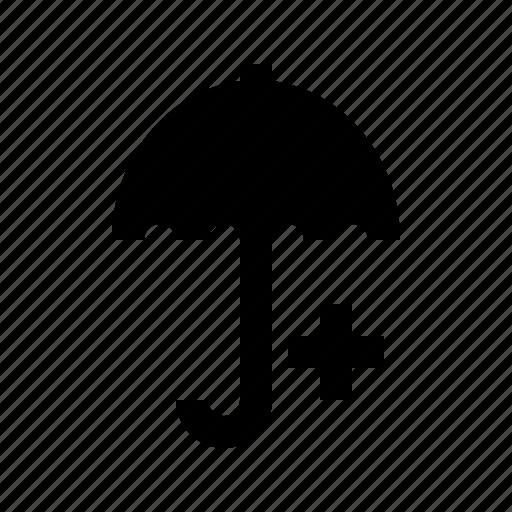 cross, doctor, hospital, medical, medicine, protect, umbrella icon