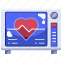 cardiogram, clinic, electrocardiogram, health, hospital, medical, stats icon
