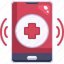 call, care, clinic, emergency, health, phone, receiver icon