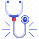 doctor, equipment, health, medical, stethoscope, tool icon