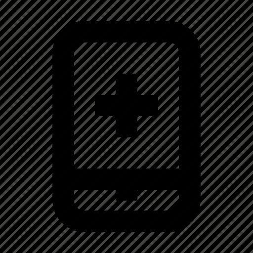 app, doctor, hospital, medical, medicine, smartphone icon