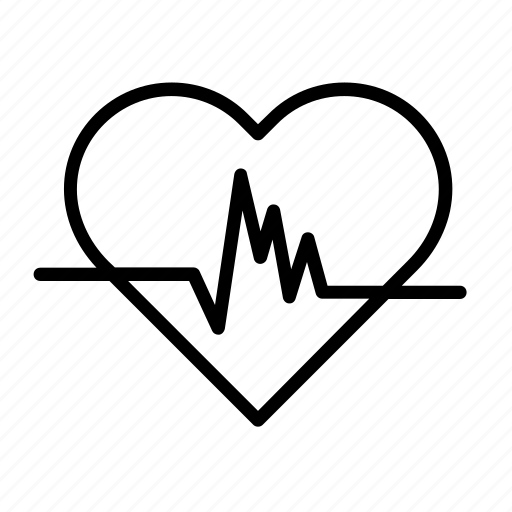heart, heartbeat, hospital, love, medical, medicine icon